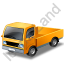 Minitruck Yellow Icon, PNG/ICO, 64x64