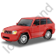 SUV Red Icon