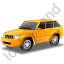 SUV Yellow Icon