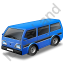 Van Blue Icon