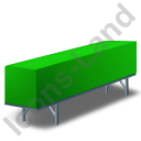 Swap Container Green Icon, PNG/ICO, 128x128