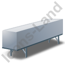Swap Container Grey Icon, PNG/ICO, 128x128