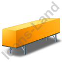 Swap Container Yellow Icon, PNG/ICO, 128x128