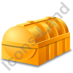 Domestic Oil Tank Yellow Icon