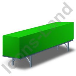 Swap Container Green Icon, PNG/ICO, 256x256