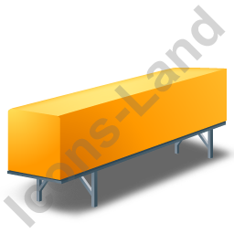 Swap Container Yellow Icon, PNG/ICO, 256x256
