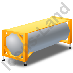 Swap Tank Container Yellow Icon