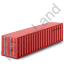 40ft Container Red Icon