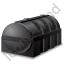 Domestic Oil Tank Black Icon