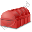 Domestic Oil Tank Red Icon, PNG/ICO, 64x64