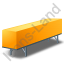 Swap Container Yellow Icon, PNG/ICO, 64x64