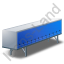 Swap Curtain Side Container Blue Icon, PNG/ICO, 64x64