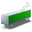 Swap Curtain Side Container Green Icon, PNG/ICO, 64x64