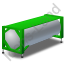 Swap Tank Container Green Icon