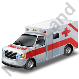 Ambulance Red Icon