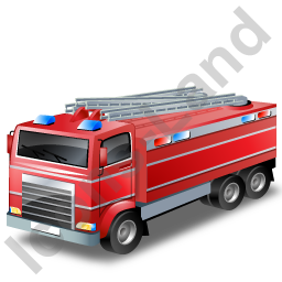 Fire Truck Red Icon