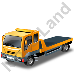 Recovery Truck Yellow Icon