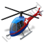 Air Ambulance Blue Icon, PNG/ICO, 64x64