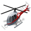 Air Ambulance Grey Icon, PNG/ICO, 64x64