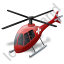 Air Ambulance Red Icon