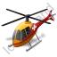 Air Ambulance Yellow Icon