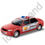 Police Car Red Icon
