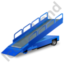 Belt Loader Blue Icon