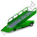 Belt Loader Green Icon