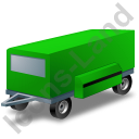 Ground Power Unit Trailer Green Icon