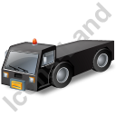 Pushback Tug Black Icon