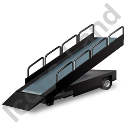 Belt Loader Black Icon