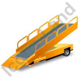 Belt Loader Yellow Icon