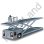 Container Loader Grey Icon, PNG/ICO, 64x64