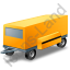 Ground Power Unit Trailer Yellow Icon, PNG/ICO, 64x64