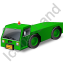 Pushback Tug Green Icon