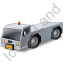 Pushback Tug Grey Icon, PNG/ICO, 64x64