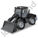 Loader Black Icon