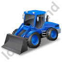 Loader Blue Icon