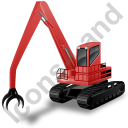 Material Handler Red Icon