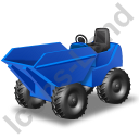 Skip Loader Blue Icon