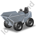 Skip Loader Grey Icon