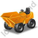 Skip Loader Yellow Icon