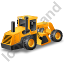 Soil Stabilizer Yellow Icon