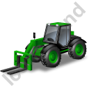 Telescopic Handler Green Icon