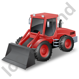 Loader Red Icon