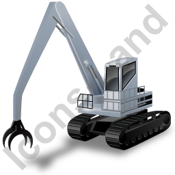Material Handler Grey Icon
