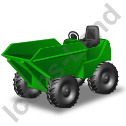 Skip Loader Green Icon