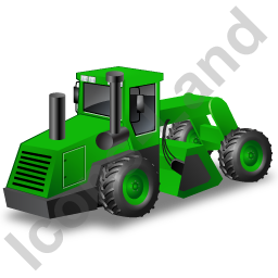 Soil Stabilizer Green Icon