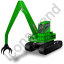 Material Handler Green Icon