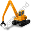 Material Handler Yellow Icon